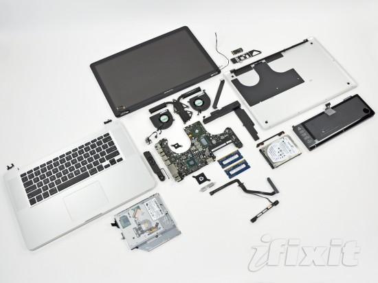 iFixit abre novo MacBook Pro de 15 polegadas