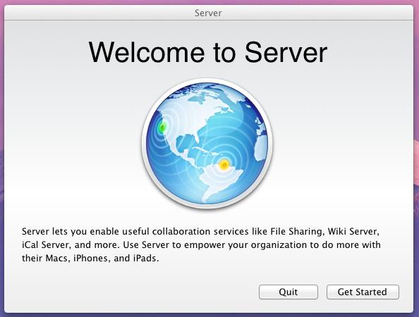 Lion Server