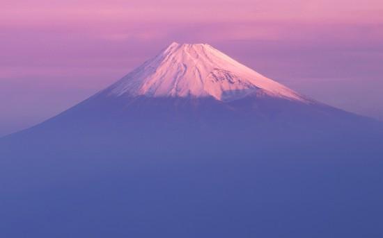 Wallpaper do Mac OS X Lion - Monte Fuji