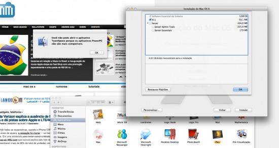 Adeus ao PowerPC no Lion