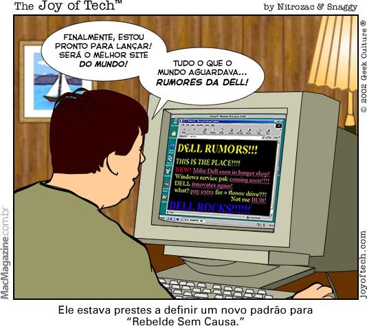 Joy of Tech - Rebelde Sem Causa