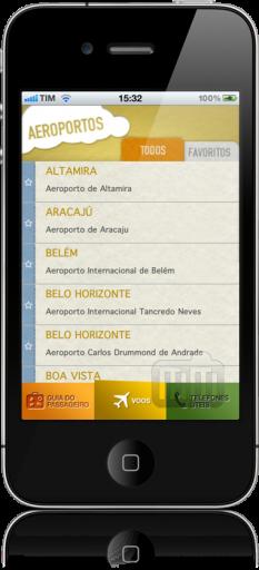 Infraero Voos Online no iPhone