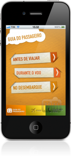 Infraero Voos Online no iPhone