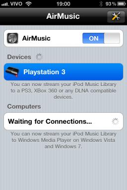 AirMusic - iPhone