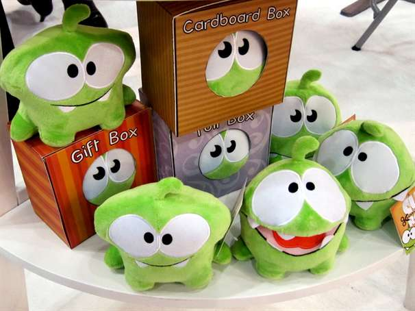 Bichinhos de pelúcia de Cut The Rope