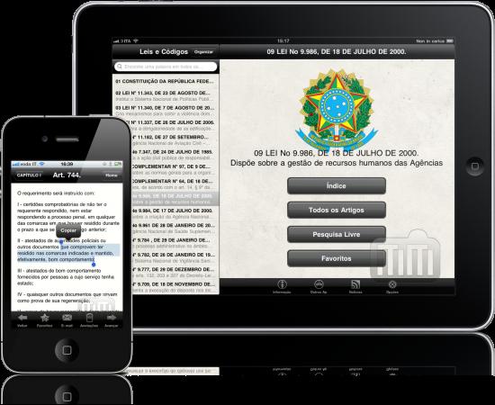 Leis e Códigos - iPad e iPhone