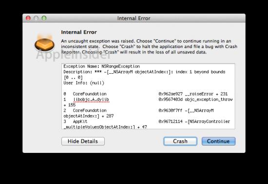 Mac OS X — Resistência a travamento