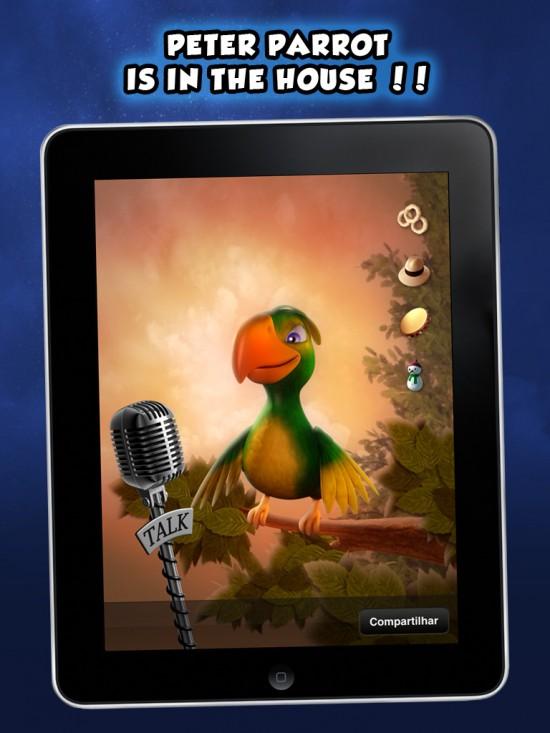 Peter Parrot - iPad