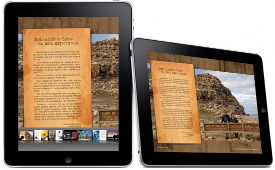 Livro PHD no iPad