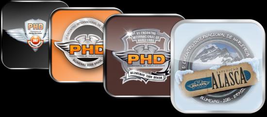Ícone dos apps/livros PHD para iPad