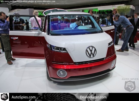 Volkswagen Bulli com iPad