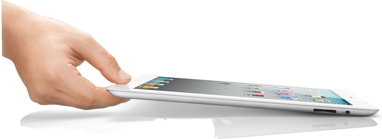 Pegando o iPad 2