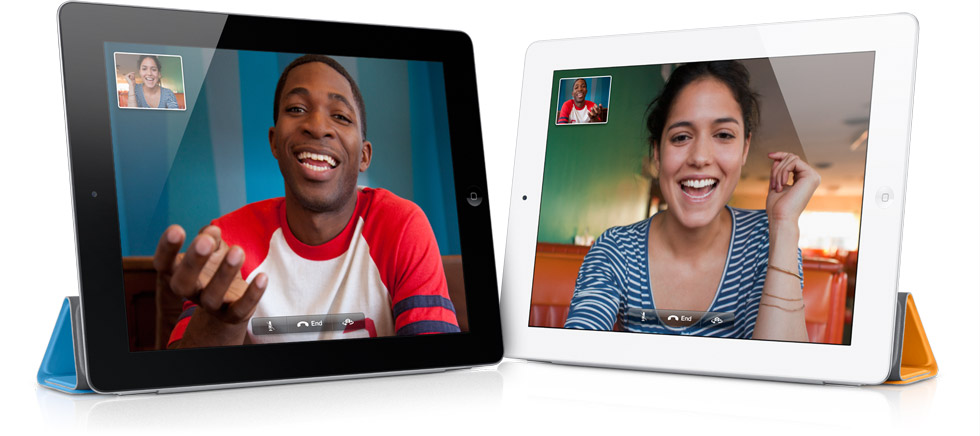 FaceTime no iPad 2