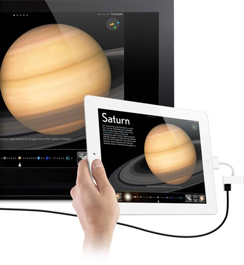 Cabo HDMI do iPad 2