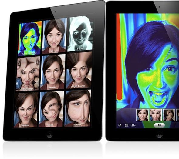 Photo Booth no iPad 2