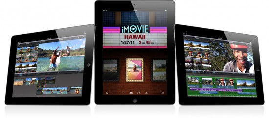 iMovie no iPad 2
