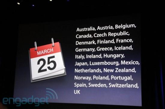 Disponibilidade do iPad 2