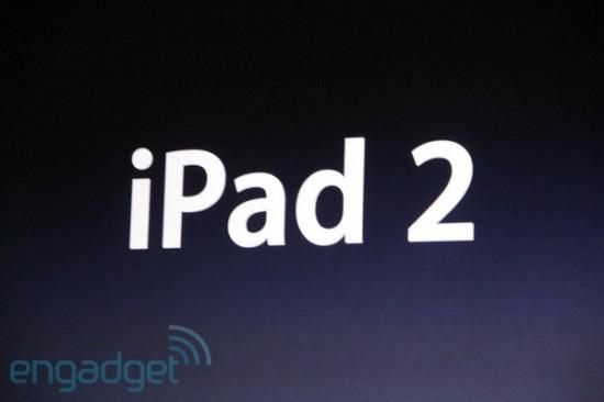 Evento de apresentação do iPad 2