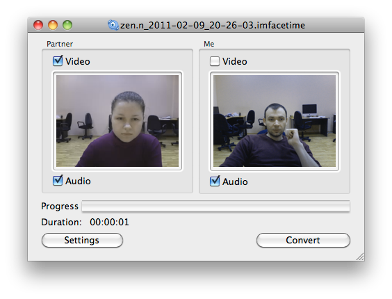 IMCapture for FaceTime no Mac
