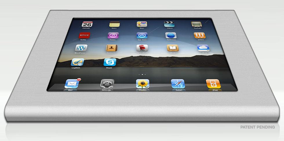 iPad Kiosk de alumínio