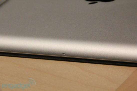 Detalhe do iPad 2