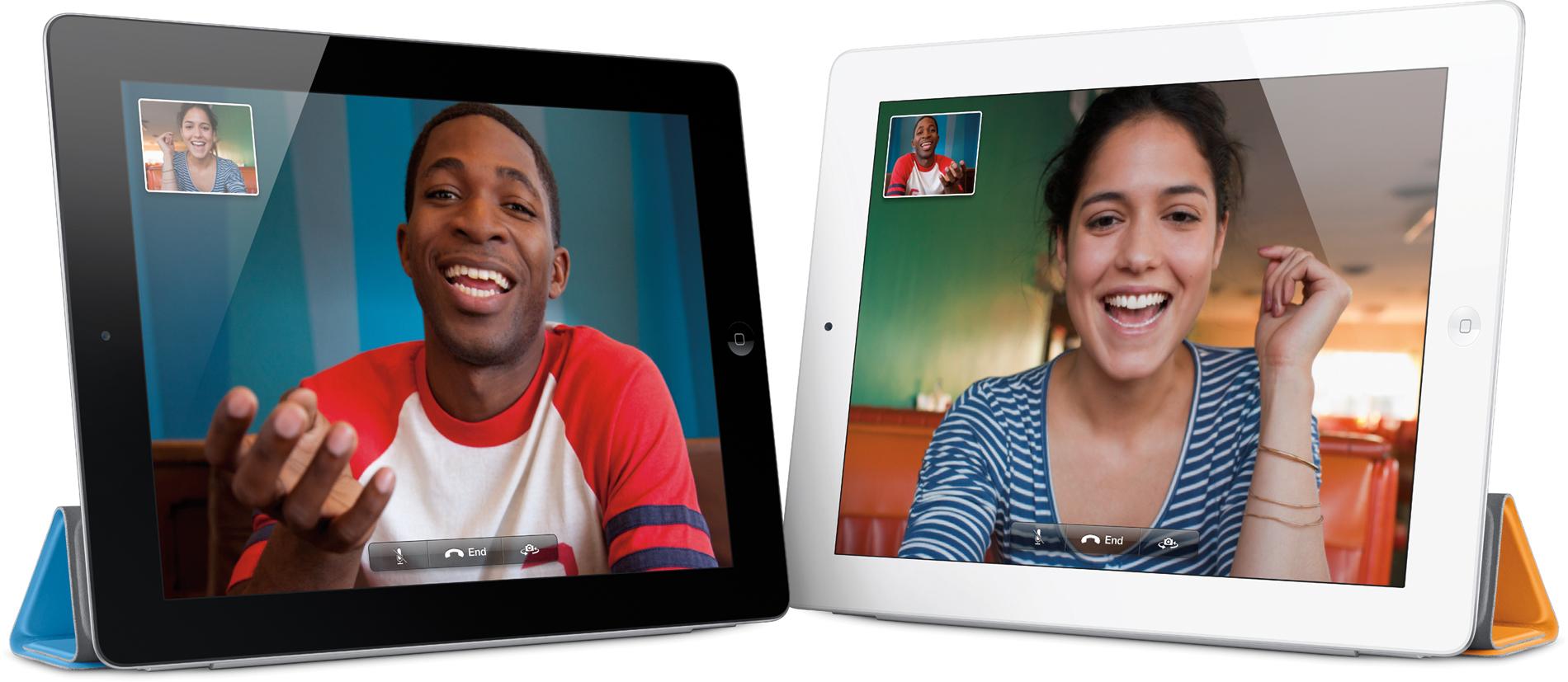 iPads 2 com FaceTime