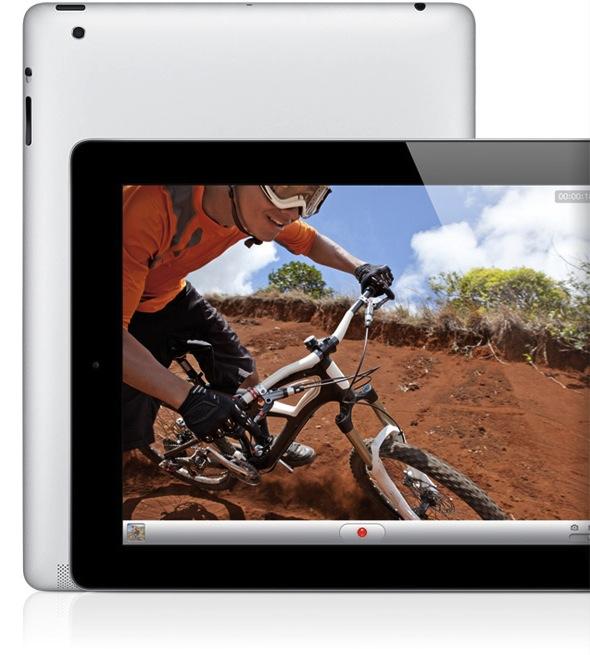 Câmera do iPad 2