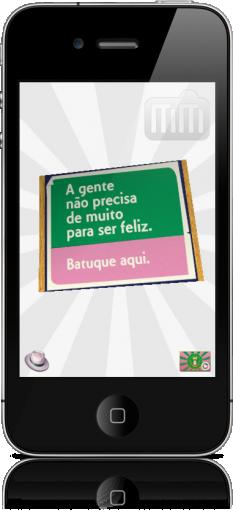 Batuque Caixa de Fósforos no iPhone