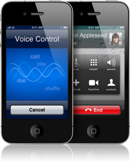Voice Control no iPhone 4