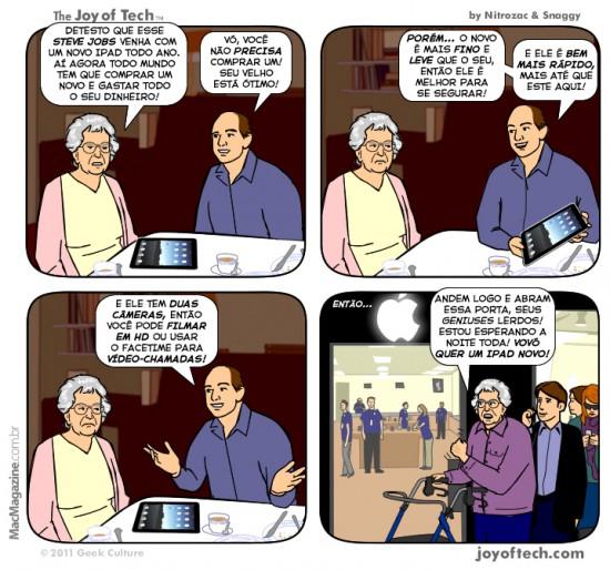 Joy of Tech - Vovo vs. Steve Jobs