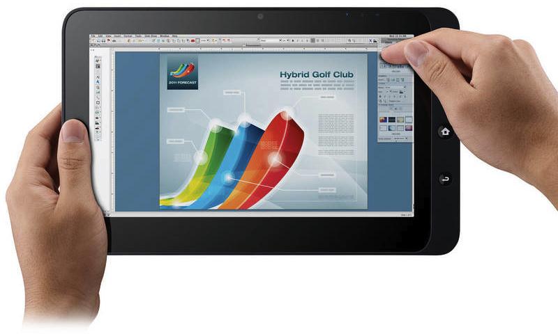 ViewPad rodando o Mac OS X