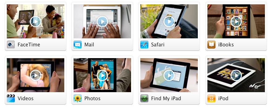 Visitas Guiadas do iPad 2
