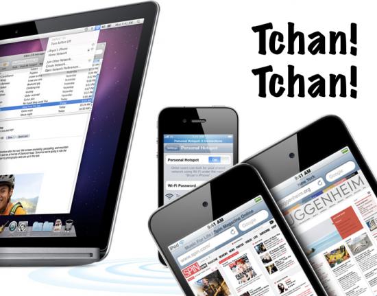 Personal Hotspot e iPod touch