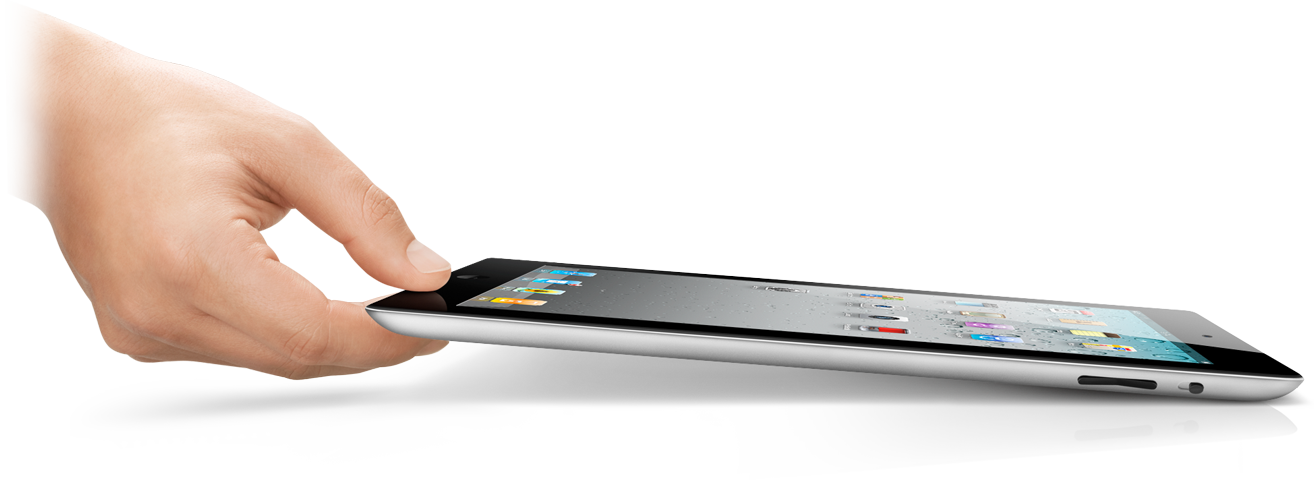 Pegando o iPad 2 preto