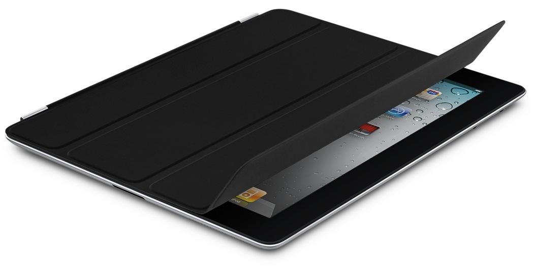 iPad 2 preto com Smart Cover Preta