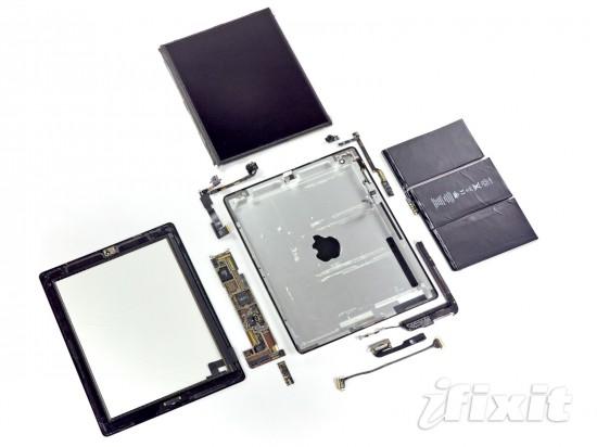 iPad 2 desmontado pela iFixit - Tcharam!