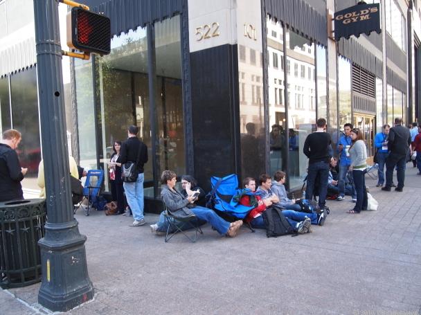 Loja temporária da Apple perto da SXSW