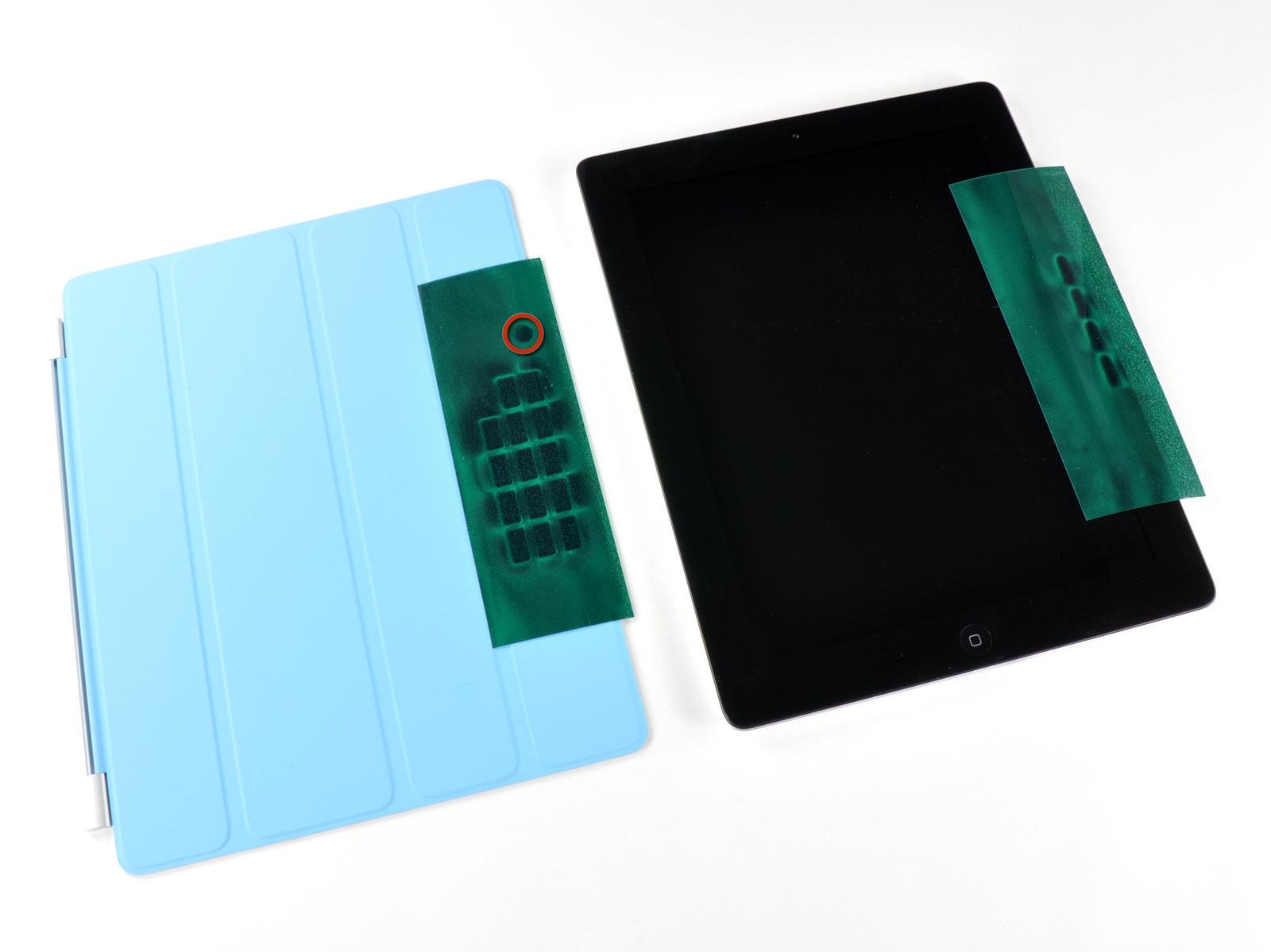 Ímãs da Smart Cover e do iPad 2 - iFixit