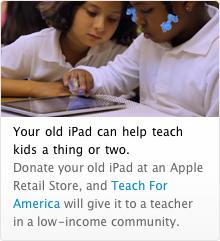 Doações de iPads