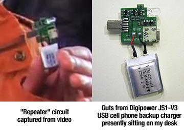 Gadget falso