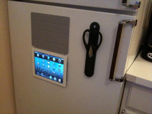 Smart Cover na geladeira