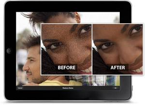 Adobe Photoshop Express 2.0 no iOS