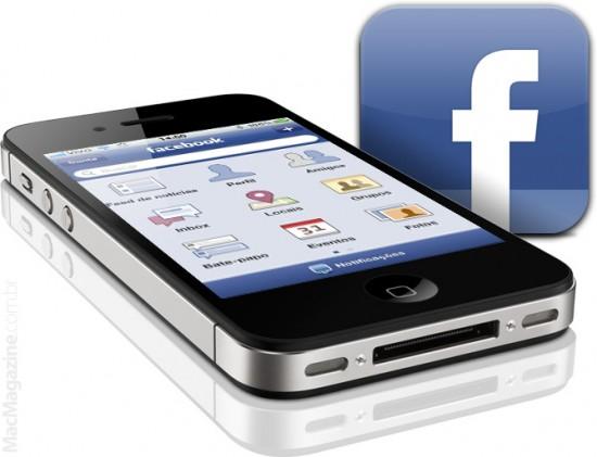 Facebook Places no iPhone