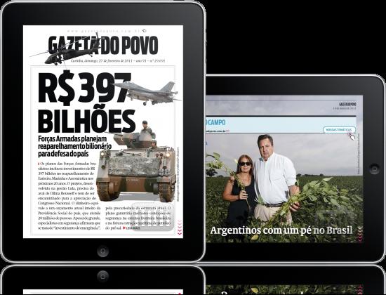 Gazeta do Povo - iPads