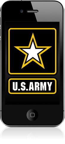 iPhone 4 no Exército