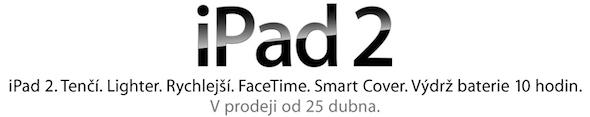 iPad 2 adiado na República Checa