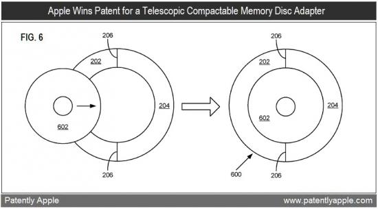 Patente de adaptador para minidiscos