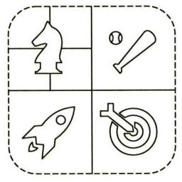 Registro de design do ícone do Game Center