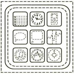 Registro de design de ícones de pastas