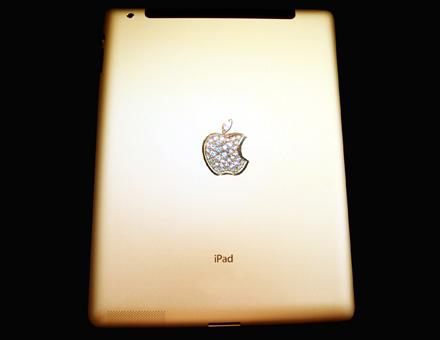 iPad 2 Gold History Edition - Stuart Hughes